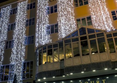 Canal Court Hotel with AJC Illuminations