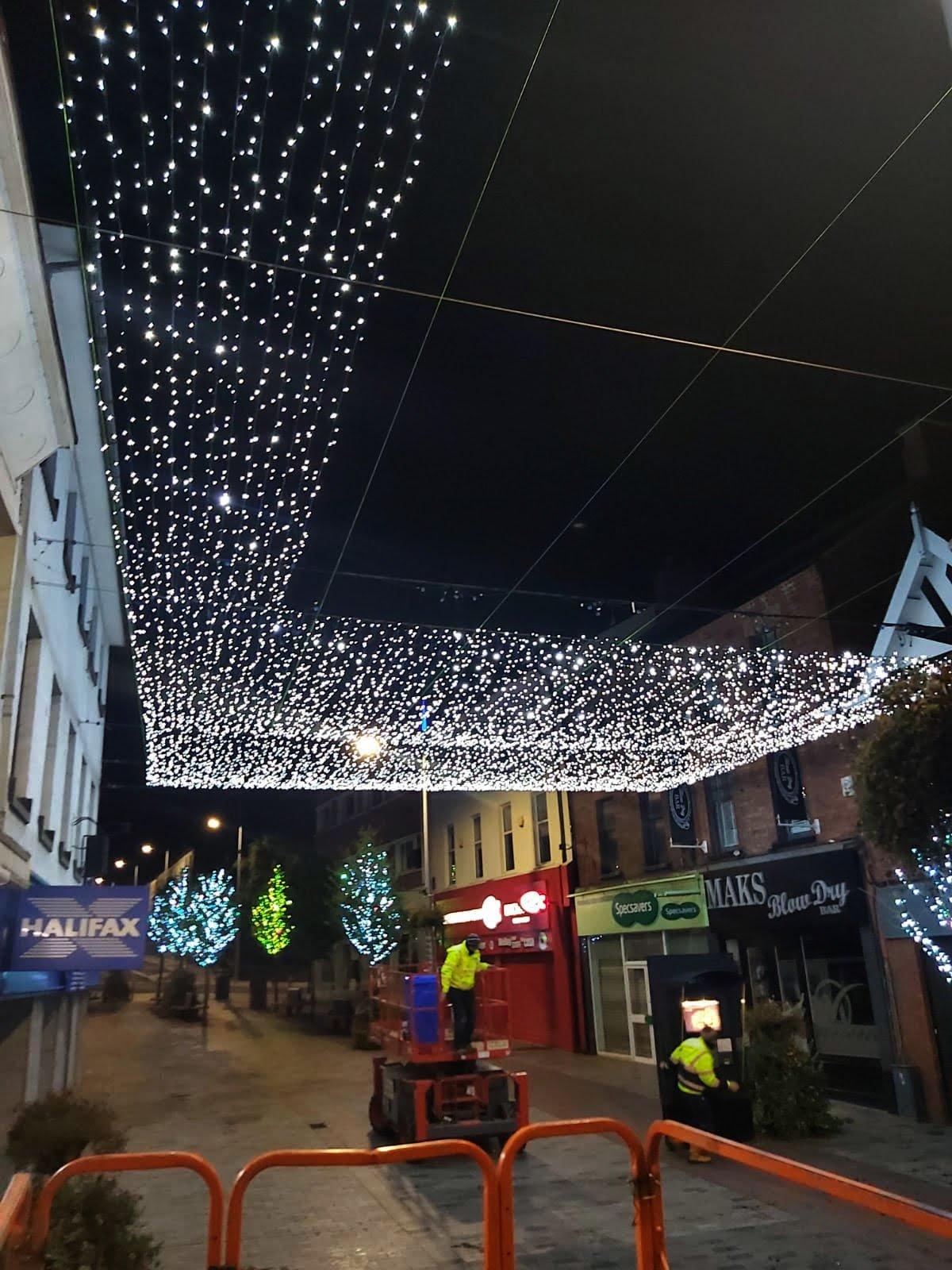 Lisburn light show Commences 2019